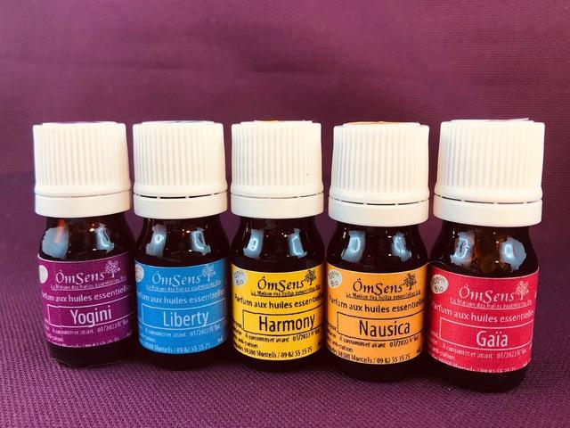 parfum huiles essentielles bio