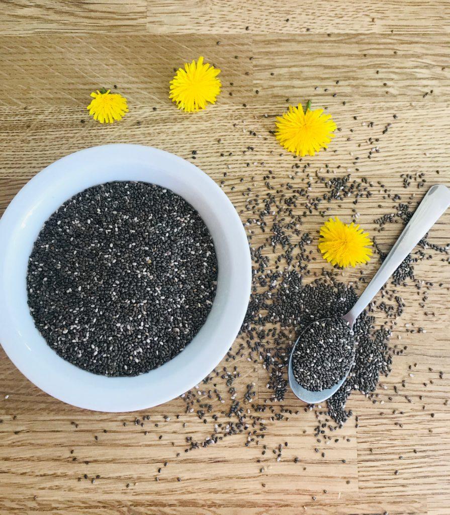 graines de chia super aliment protéines bienfaits santé