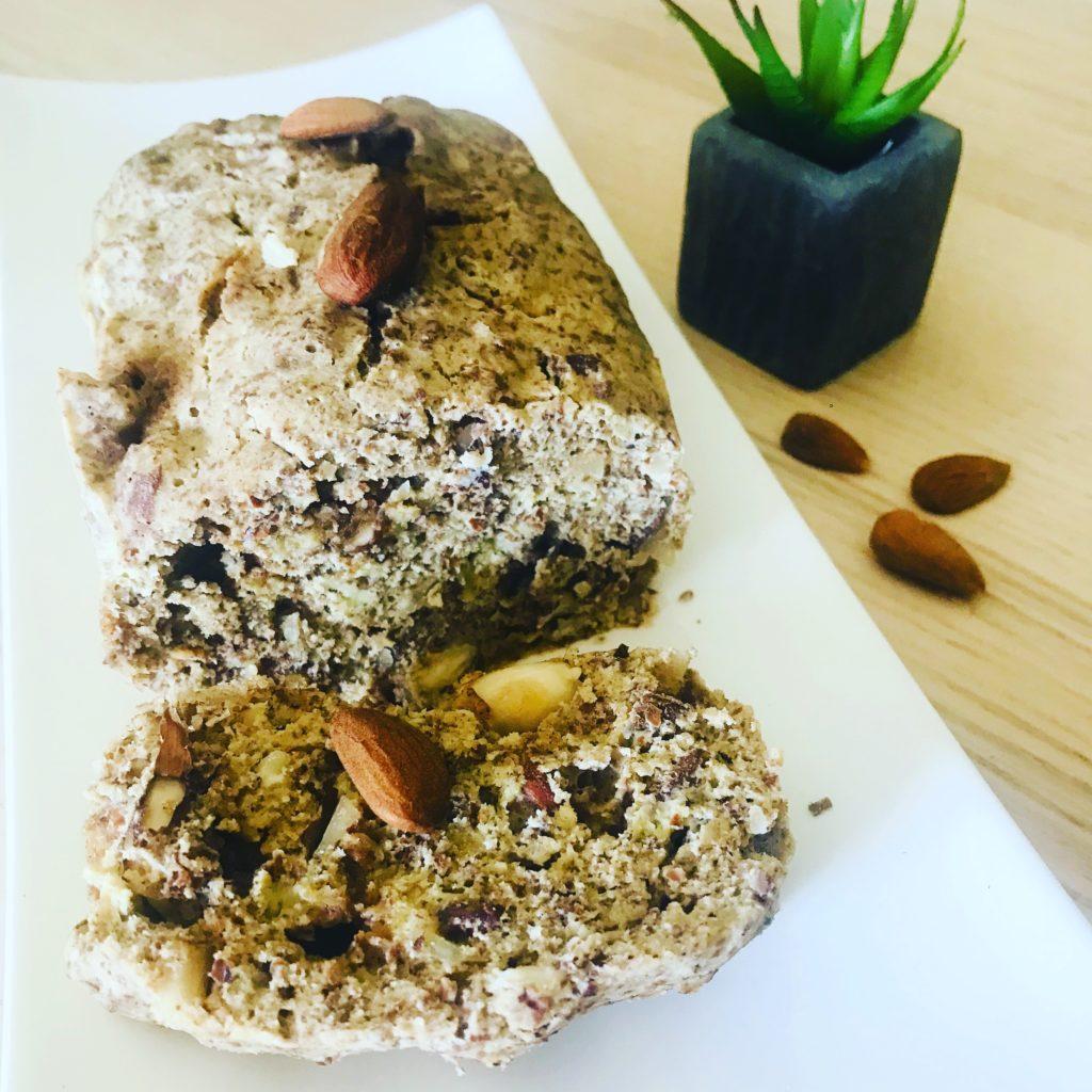 cake-banane-recette-minceur-petit-déjeuner-paléo-sans-gluten-sans-lactose