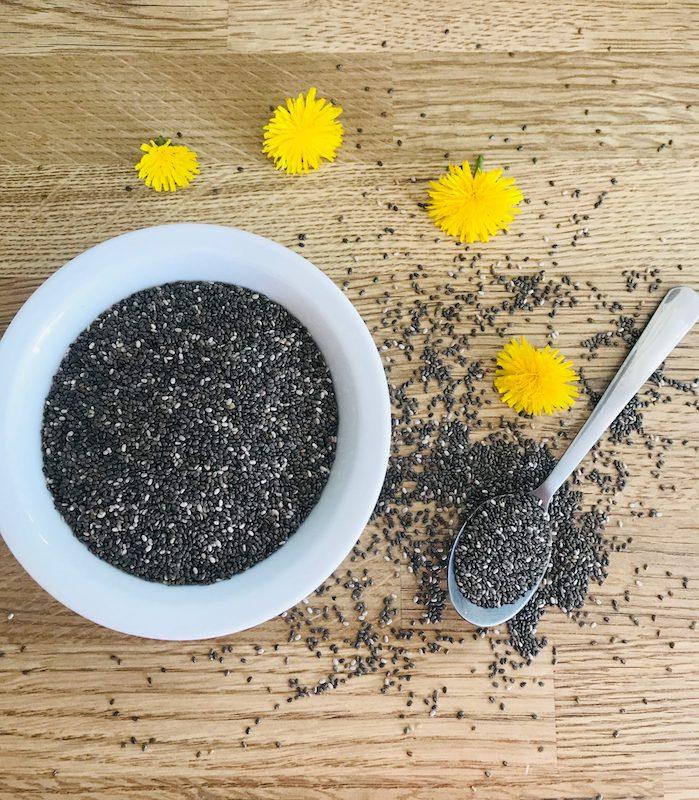 graines de chia le super aliment protéines bienfaits santé