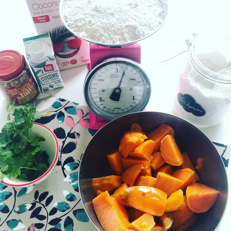 recette gaufres patate douce vegan sans gluten sans lactose
