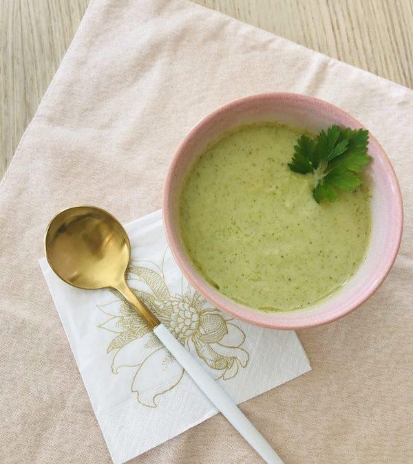 Soupe au brocoli & curry