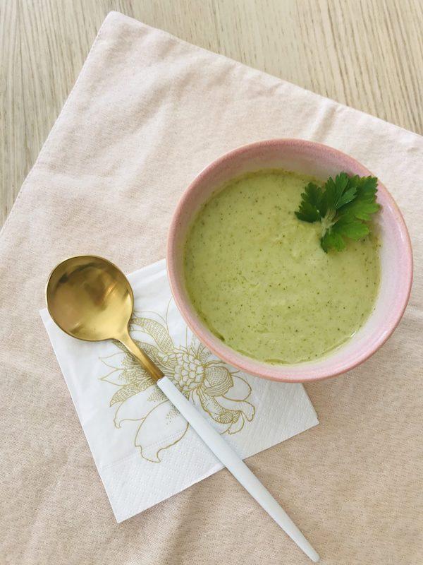 recette santé soupe brocoli