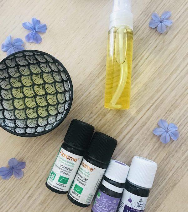 DIY : Sérum anti-moustique aux huiles essentielles