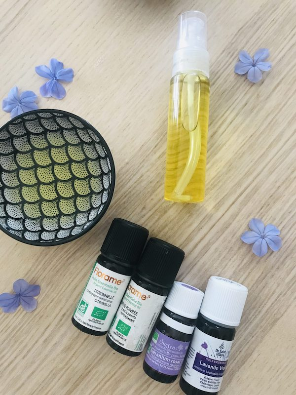 sérum maison anti-moustique aux huiles essentielles