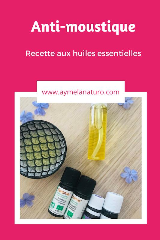 recette anti-moustique aux huiles essentielles