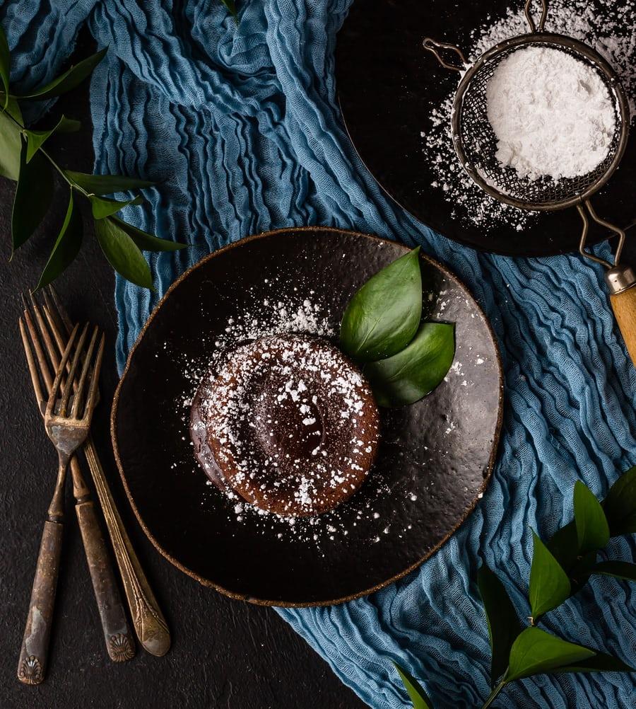 recette de fondant au chocolat qui tue sans farine, sans lait, sans oeuf