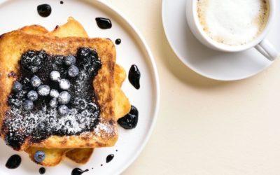 Pain perdu healthy (sans gluten, sans beurre, sans lait)