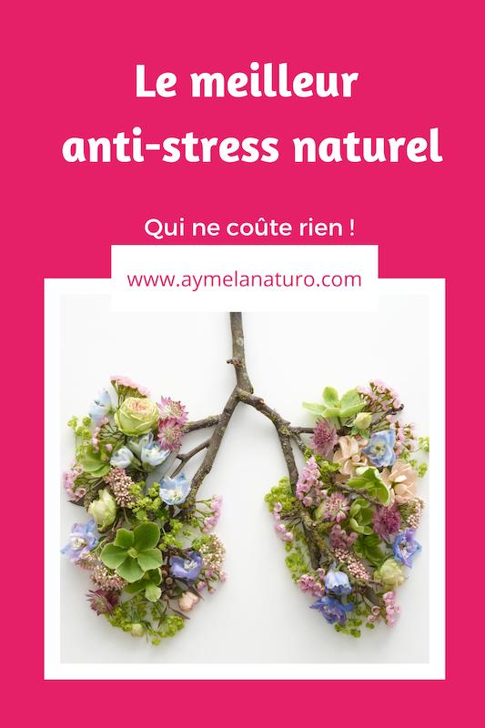 respiration abdominale ventrale anti stress naturel