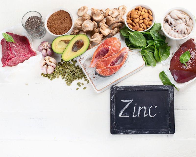 Les bienfaits du zinc