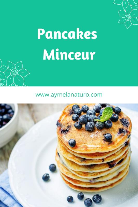 recette pancakes perte de poids petit déjeuner minceur naturopathe