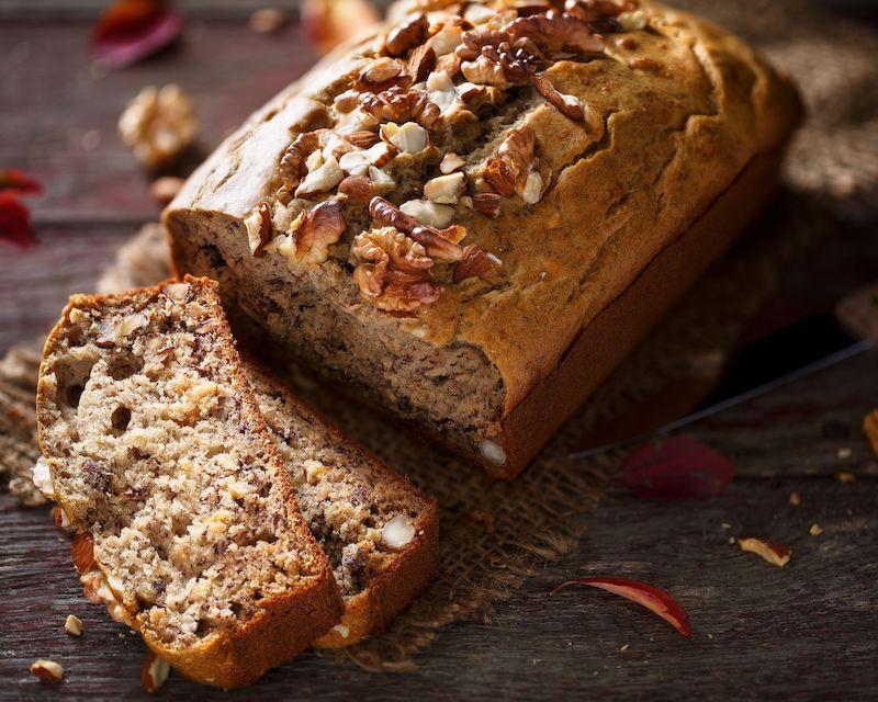 banana bread healthy petit déjeuner protéines